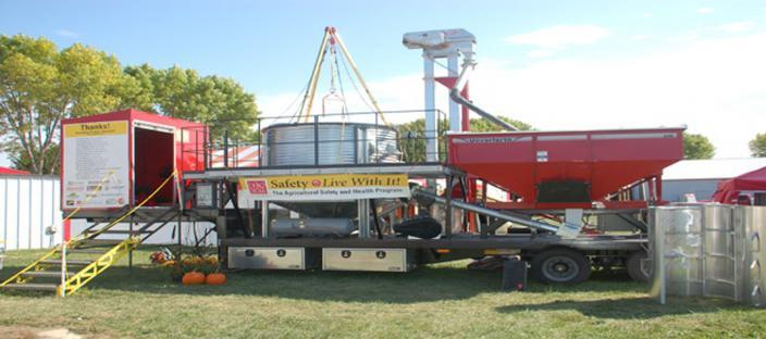 Mobile Grain C.A.R.T. (Comprehensive Agricultural Rescue Trailer)